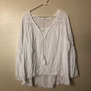 Maurice's Foley Sheer Blouse